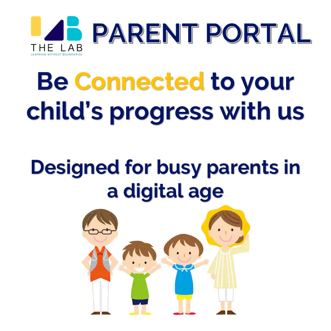 The Lab Singapore Parent Portal